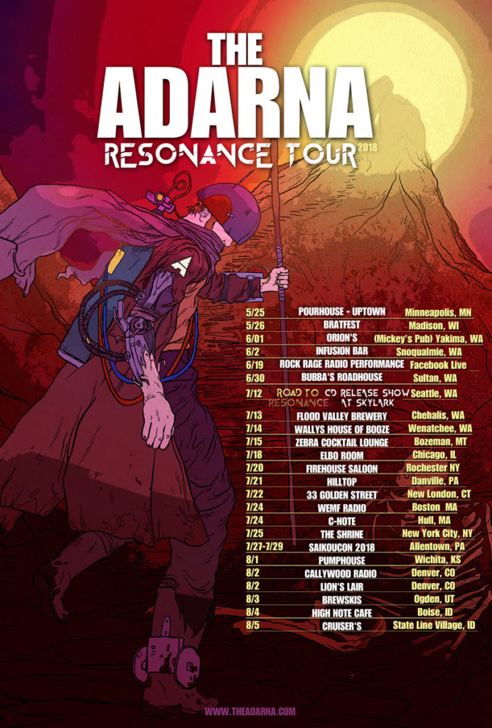 The Adarna - Resonance Tour (2018)
