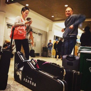 074 - A wee jig before the flight at SeaTac - heading to the East Coast