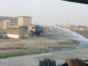 177 - And let the water fight commence! — in Al `Abdaliyah, Al 'Āşimah, Kuwait.