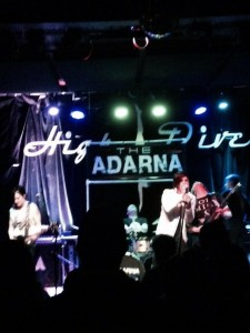 The Adarna performing at the High Dive in Seattle, WA