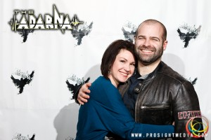 Brooks and Julie at The Adarna's CD Release Show 2012