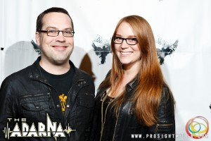 Jennie and Caleb at The Adarna's CD Release Show 2012