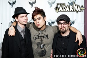 Ron Lipke, Dusty, and William at The Adarna's CD Release Show 2012