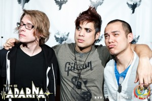 Jeremiah, William, and Josh at The Adarna's CD Release Show 2012