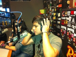 003 - Live interview in KISW Studios