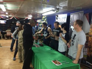 226 - Meet and greet in Camp Buehring, Kuwait!  Pictures and autographs