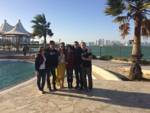 276 - The Adarna with MWR staff - in Doha, Qatar.