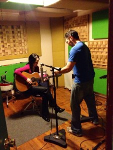 Andreka tracking with Dylan Fant at 1 Shot Studios