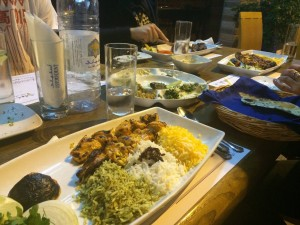 370 - Despite it being called America Row...we managed to find Persian food! — in Manama, Bahrain.