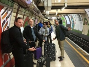 432 - Right after playing we hopped on a plane to jolley ole London so that William could go down memory lane and The Adarna could see London for their first time - The Tube, London