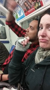 442 - Riding the tube in London