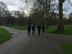 450 -Off to do touristy things — Hyde Park, London