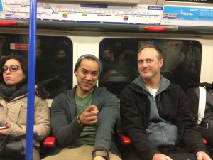 488 - Riding the tube in London