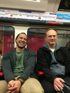 489 - Riding the tube in London