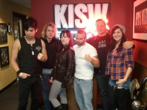 002 - The Adarna with Andy & Stacy at KISW studios