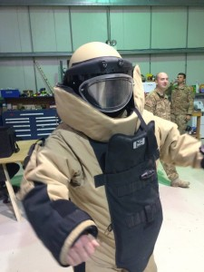 084 - Oliver in the EOD suit —
