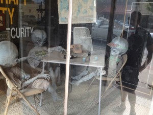 035 - Oh nuthin much.  Just aliens chillin in the window