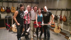 070 - The Adarna at the Hit Factory and Gibson showroom in NYC with the host of Talking Metal