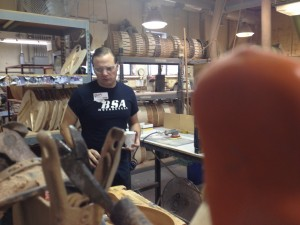290 - The Adarna getting a tour at the Gibson Acoustic Factory in Bozeman, MT