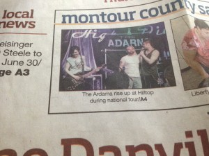 Featured in Danville News