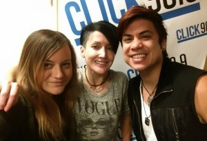 001 - Andreka and William with Heather Lee from 98.8 Rock Station