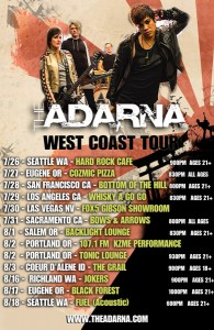 001 - The Adarna West Coast Tour Poster