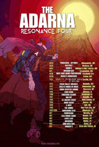 001 - Resonance Tour Poster